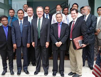 US Ambassador visits NATco Bangladesh!